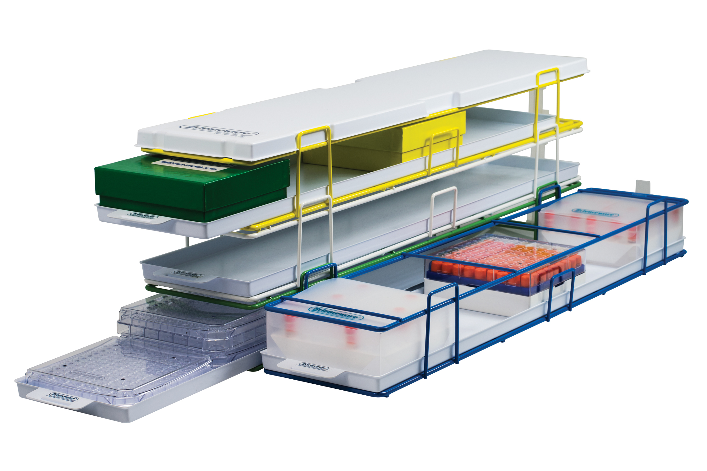 Modular Freezer Racks from Bel-Art SP Scienceware