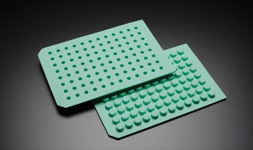 Molded sealing mats for standard 96 well microplates from for Jg finneran associates