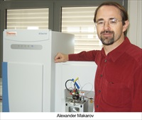 Alexander Makarov, Ph.D, professor of high resolution mass spectrometry at the Bijvoet Center of the Department of Chemistry
