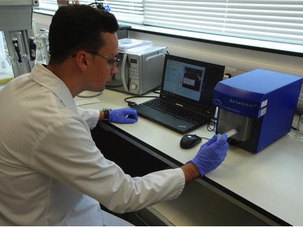 CellGS scientist uses the Particle Metrix ZetaView for the study of exosomes
