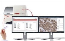 Digital Pathology Case Management with dual screen review.