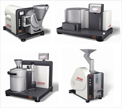 4 new High-Tech-mills from FRITSCH