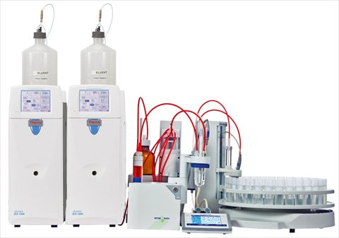Titration/Ion Chromatography (IC) system