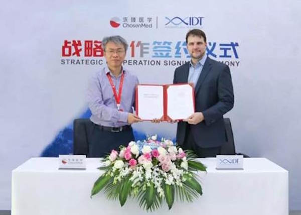 IDT-signs-strategic-partnership-with-Chinese-medical-sequencing-firm-ChosenMed