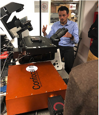 Jeroen Kole, product applications specialist, demonstrating RCM