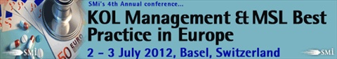 4th annual European Conference on KOL Management & MSL Best Practice in Europe