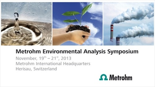 Metrohm Environmental Analysis Symposium