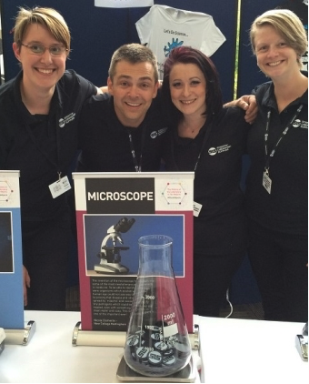 Microscope voted top #10LabObjects at Scientific Laboratory Show 2016