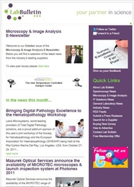 Microscopy & Image Analysis E-Newsletter