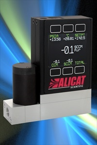 Mass flow controllers increase accuracy and repeatability of GC analysis
