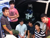 Professor Shinji Deguchi's research group from Nagoya Institute of Technology with the JPK NanoWizard AFM system