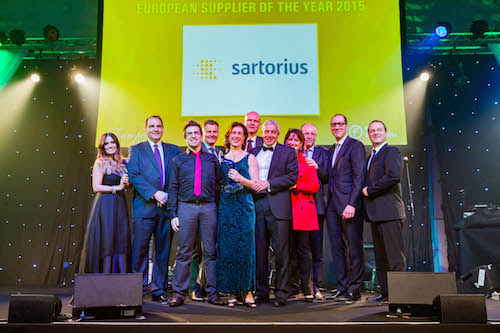 Sartorius Supplier of the Year 2015