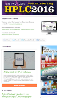 Chromatography e-Newsletter