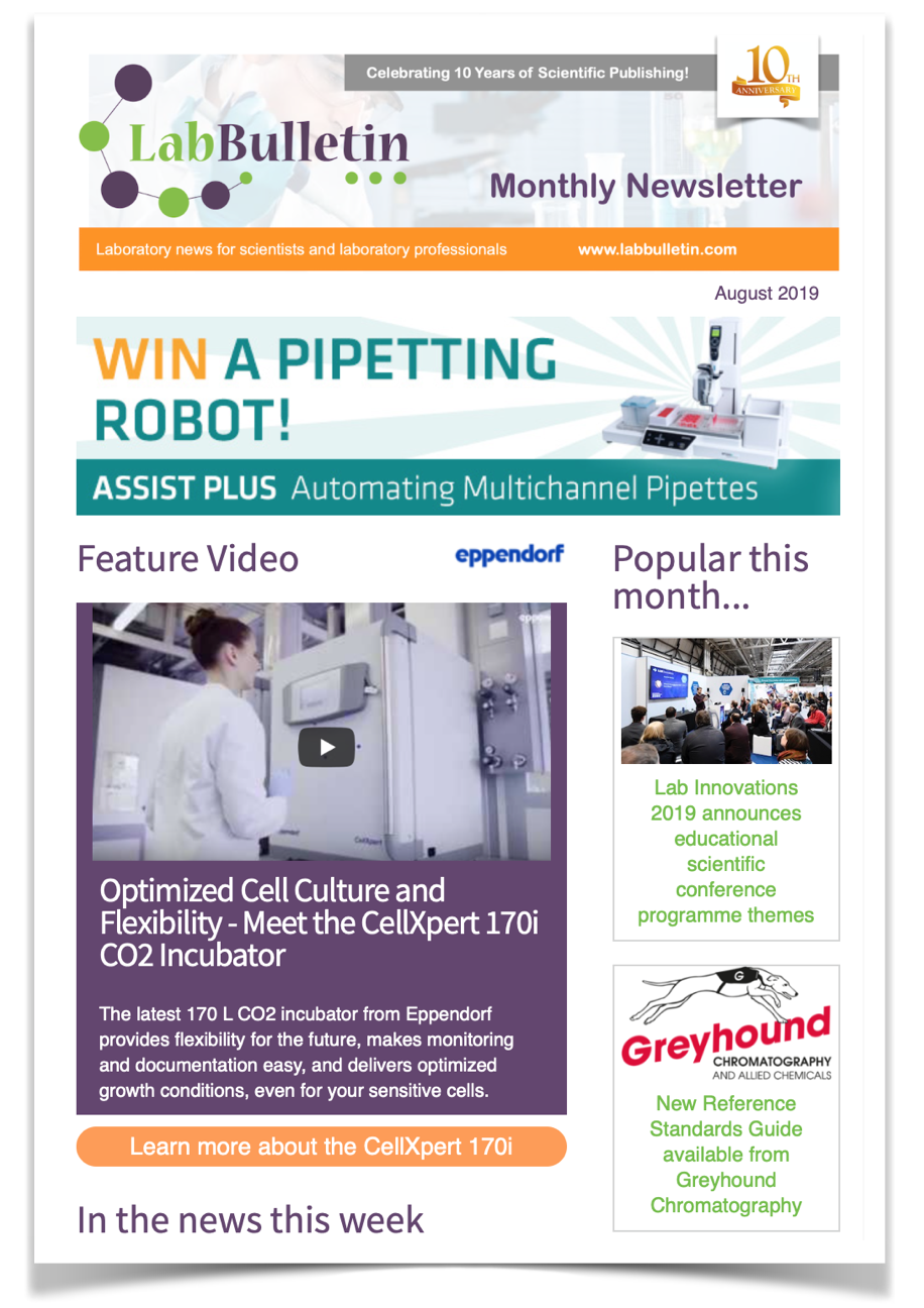 Lab Bulletin August Newsletter