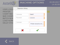 FDA 21 CFR part 11 software for Astell's autoclave range