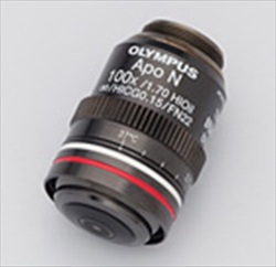 Olympus NA 1.7 APON100×HOTIRF objective lens
