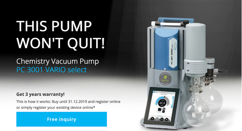 this-pump-won039t-quit-the-pc-3001-vario-select