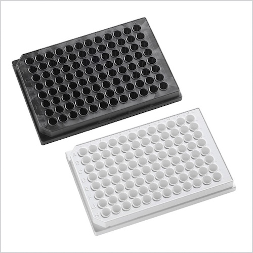 clear bottom assay plates
