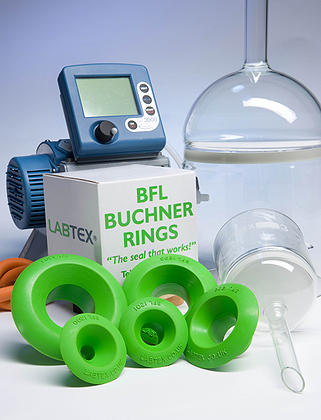 Buchner Rings help efficient and safe vacuum filtration
