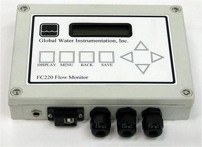 FC220 open channel flow monitors