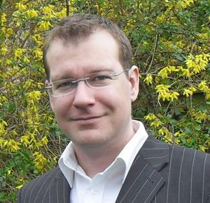 Dr Robert Field, JPK's new UK & Ireland Sales Manager