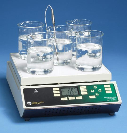 EchoTherm™    Model HS65 Programmable Digital Stirring Hot Plate with 5-Stirring Positions