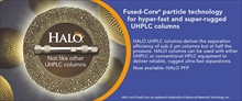 HALO PFP Fused-Core UHPLC columns