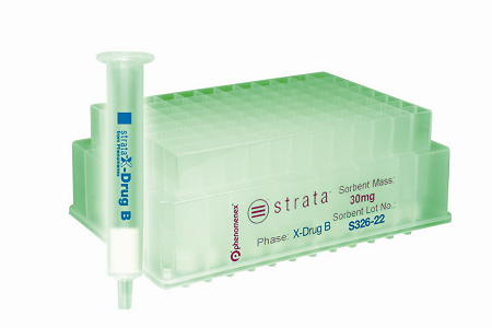 Strata™-X-Drug B, a new solid phase extraction (SPE) sorbent