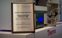 Thermo Fisher Scientific Wins Scientists' Choice Award for Nano-Flow Liquid Chromatograph (Photo: Business Wire)