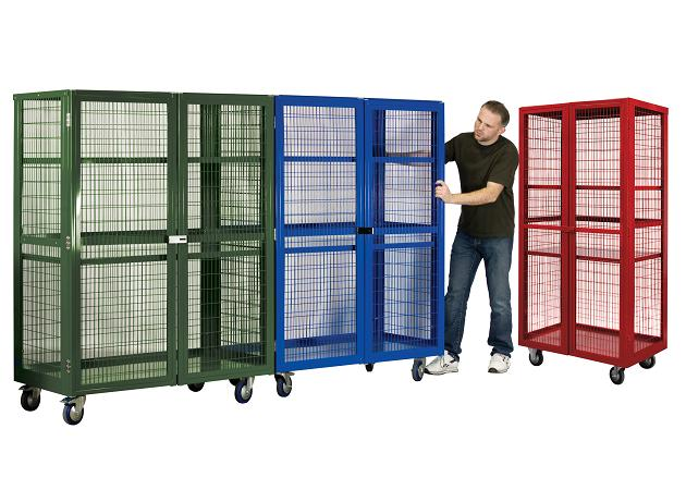 STAKRAK LTD, STAK-SECURE MOBILE security cages