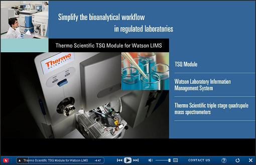 Thermo Fisher Scientific Demonstrates Software for Simplified Bioanalytical Workflows