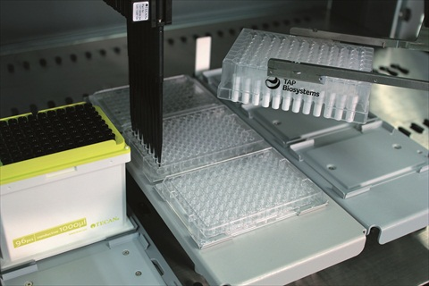 Tecan and TAP Biosystems to automate RAFT  3D cell culturing on the Freedom EVO