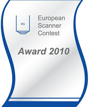 Olympus VS110 wins two awards at the European Scanner Contest