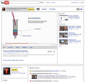 Thermo Fisher Scientific Launches YouTube Chromatography Channel
