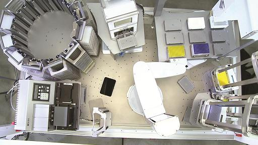 Video Demonstrates Easily Configurable Direct Drive Robot