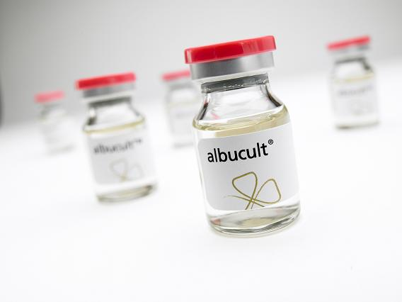 albucult delivers unprecedented performance and quality benefits to a range of applications