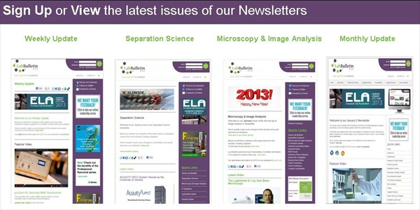 Sign up to our E-Newsletters