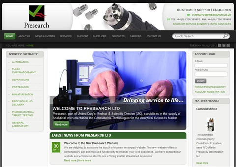 Presearch website