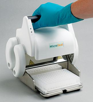 MicroSeal - a new budget priced manual microplate heat sealer