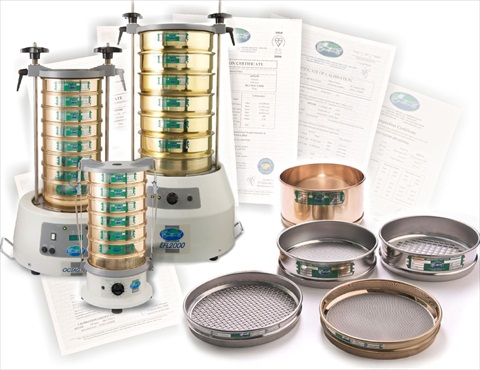 shakers and sieves