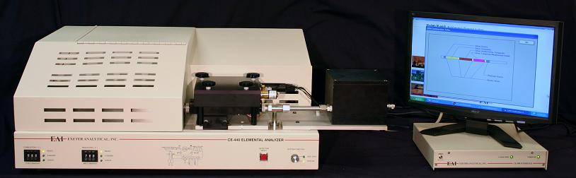Model 440 Elemental Analyzer from Exeter Analytical