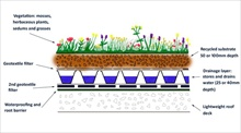 green roof growth aggregates