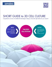 Short Guide to 3D Cell Culture