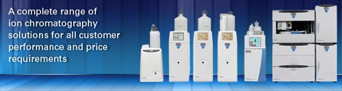 Icon Chromatography Products
