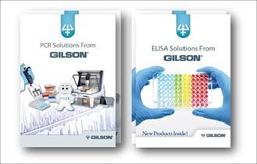 Download Gilson's new PCR and ELISA Brochures - Laboratory News