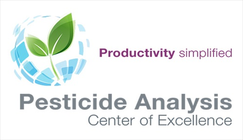 pesticide analysis Center of Excellence main header