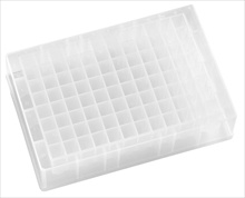 low profile deep well microplate