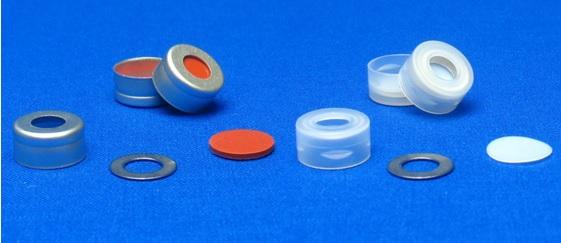 11mm aluminum seals snap top capstm with metal 0 rings for Jg finneran associates