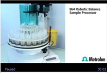 Metrohm 864 Robotic Balance Sample Processor