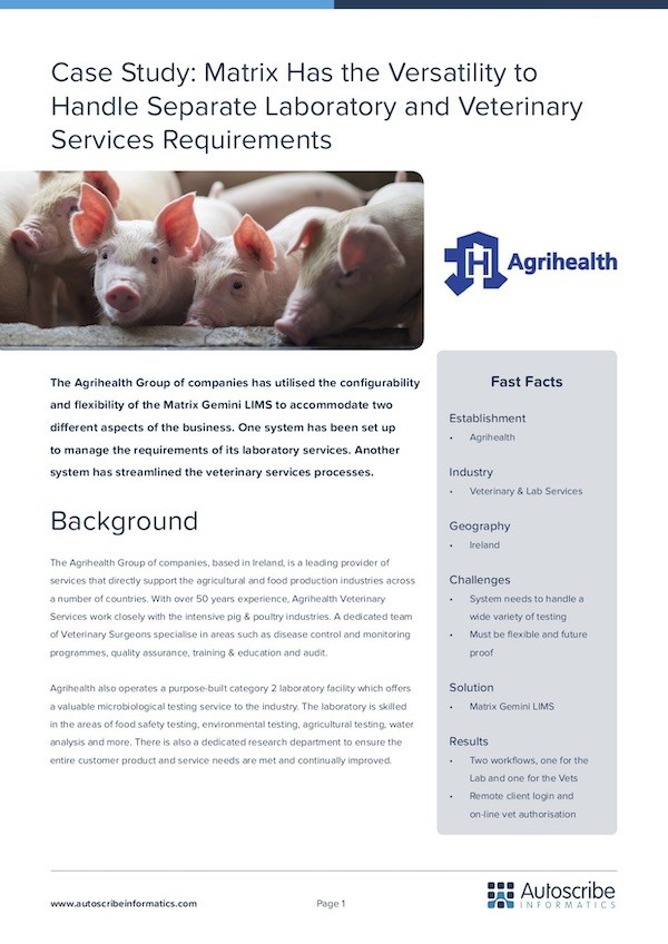 Agrihealth Case Study